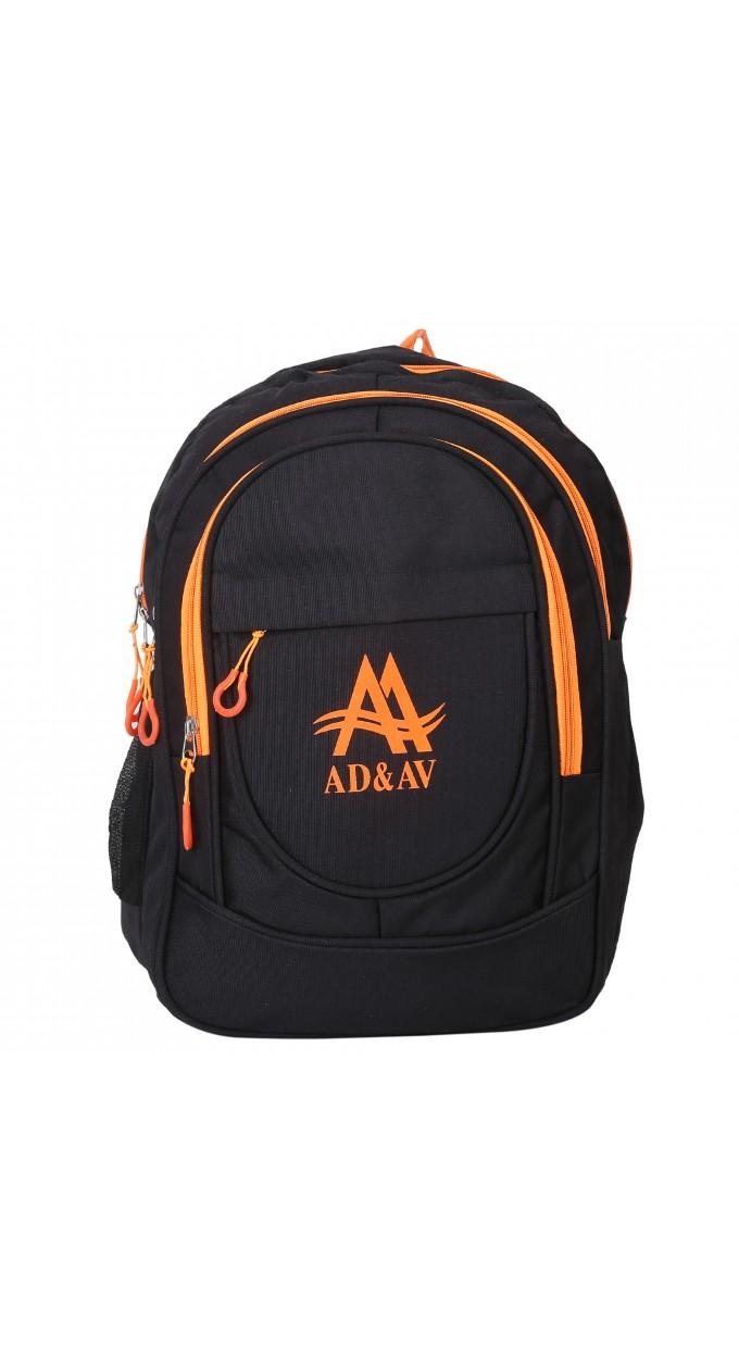 4ad1d88c81 114 BACKPACK BIGORANGE 35 L Backpack (Black)
