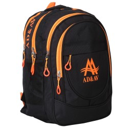 AD & AV 114_BIGORANGE_SCHOOL_BAG Waterproof School Bag  (Orange, 35 L)