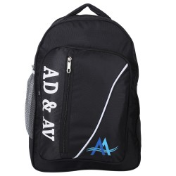 117_BACKPACK_TEDILINE_BLACK 25 L Backpack  (Black)