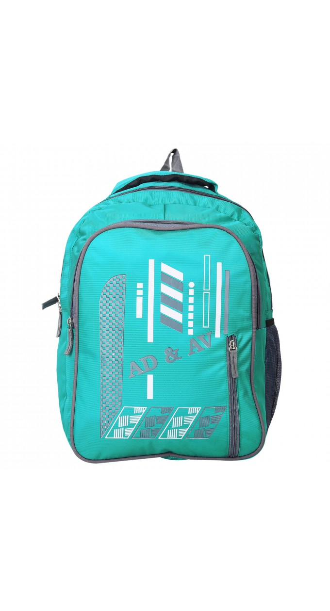 5154b0a9457c AD   AV 122 SCHOOL BAG RAMA Waterproof School Bag (Green