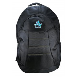 _BLACK LAPTOP Backpack   (Black)