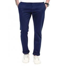 AD & AV Regular Fit Men's  BLUE Trousers (112)