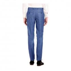 AD & AV Regular Fit Men's BLUE Trousers (129)