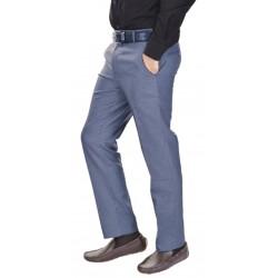 AD & AV Regular Fit Men's BLUE Trousers (137)