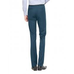 Regular Fit Men Gold Trousers
