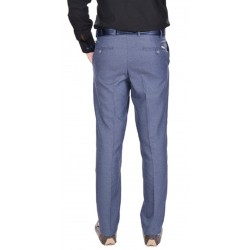 AD & AV Regular Fit Men's  BLUE Trousers (226)