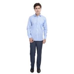 AD & AV Regular Fit Men's BLUE Trousers (231)