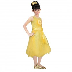 AD & AV Girls  YELLOW SATIN