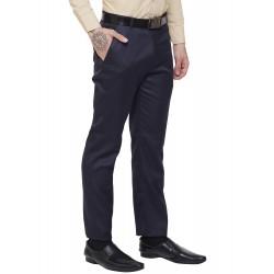 AD & AV Regular Fit Men's  DARK BLUE Trousers (291)