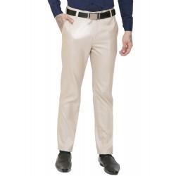 AD & AV Regular Fit Men's  CREAM Trousers (308)