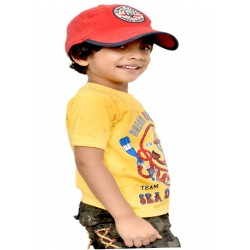 Boys Printed Cotton Blend T Shirt  (Multicolor, Pack of 2)