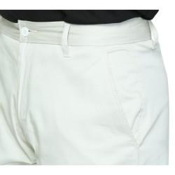 Regular Fit Men Beige Trousers