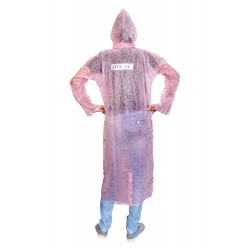 WOMENS PINK RAINCOAT