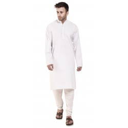 Men PLAIN WHITE_CHUDI