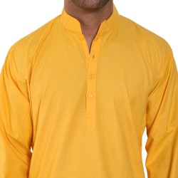 Men  PLAIN YELLOW _ CHUDI