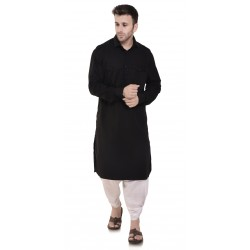 Men  BLACK POCKET_DHOTI