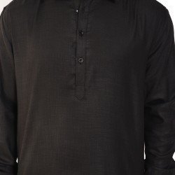 Men   SLUB  PATHANI  BLACK