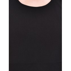 AD & AV Women's MIDI PLAIN BLACK