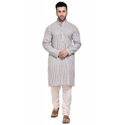 Men Kurta and Churidar Set_878