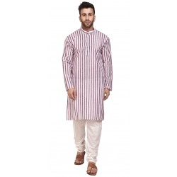 Men Kurta and Churidar Set
