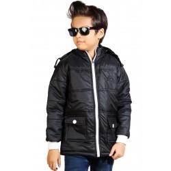 Full Sleeve Solid Boy's Jacket