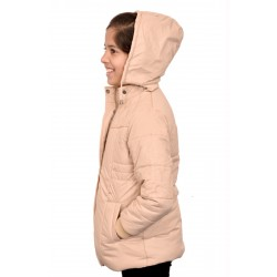 Full Sleeve Solid Girl's Jacket