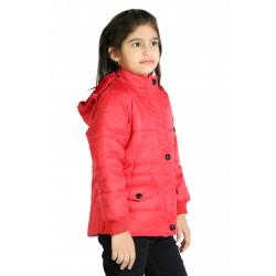 Full Sleeve Solid Girls Jacket