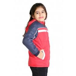 Full Sleeve Colorblock Girls Jacket
