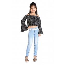 Regular Girl's Light Blue Jeans