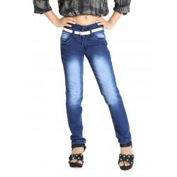 Regular Girl's Blue Jeans