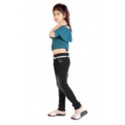 Regular Girl's Dark Blue Jeans