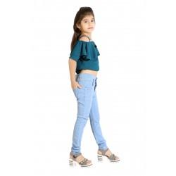 Regular Girls Light Blue Jeans