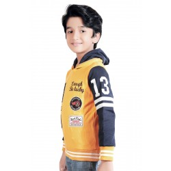 Full Sleeve Applique Boy's Sweatshirt