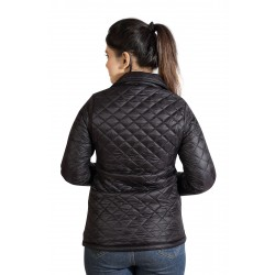 Full Sleeve Checkered Women's Jacket