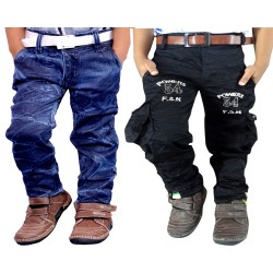 COMBO BADI JEANS AND NEW BLACK CARGO