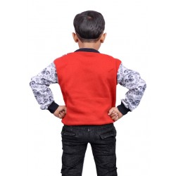 AD & AV Self Design Round Neck Casual Boys Multicolor Sweater