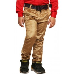 AD & AV Regular Fit Boys BROWN VELVET TROUSER (587)