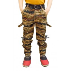 AD & AV Regular Fit Boys ARMY POLICE  JOGGERS (597)