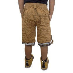 COMBO GOLDEN CARGO KHAKI SHORTS