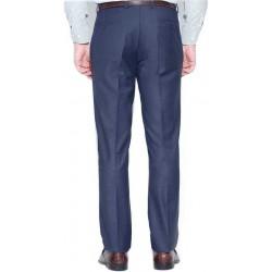 Regular Fit Men Brown, Dark Green Trousers