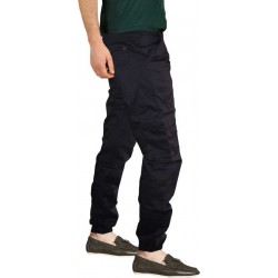 Regular Fit Men BLUE Trousers
