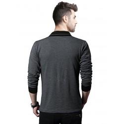 AD & AV Solid Men's V-neck WHITE T-Shirt HS