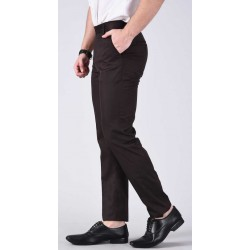 Regular Fit Men Dark Blue, Dark Green Trousers