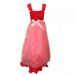 AD & AV Girls Maxi/Full Length Party Dress  (Multicolor, Sleeveless) 397