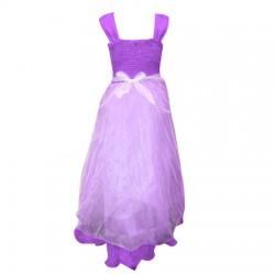 AD & AV Girls Maxi/Full Length Party Dress  (Multicolor, Sleeveless) 401