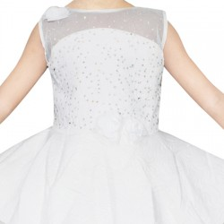 AD & AV Girls Midi/Knee Length Party Dress ( MULTICOLOR, Sleeveless) (452)