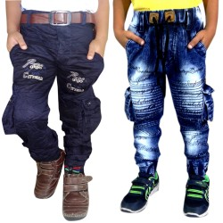 JOGGER JEANS AND NEW BLUE CARGO