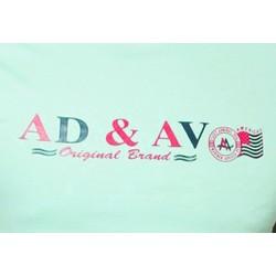 AD & AV Solid Men's U-neck GREEN T-Shirt HS (719)
