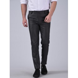 Regular Fit Men GREYTrousers