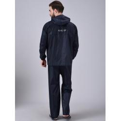 Solid Men Raincoat